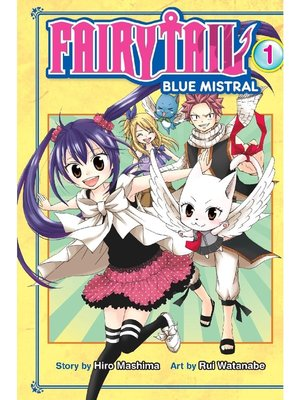 cover image of Fairy Tail Blue Mistral, Volume 1